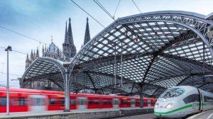 DB174981 Koeln Hbf Anfangs Mittel Endpunkt Einer Reise Mit Der Bahn