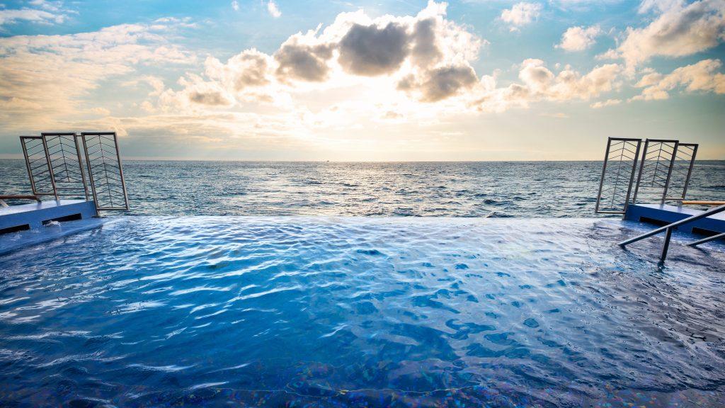 Regent Seven Seas Explorer Infinity Pool