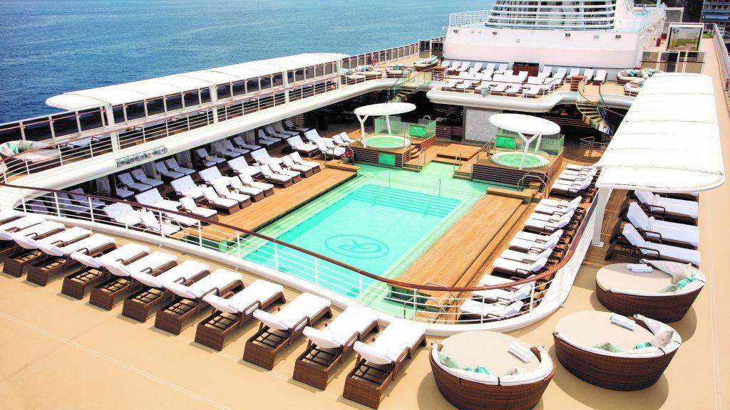Regent Seven Seas Explorer Pool Deck
