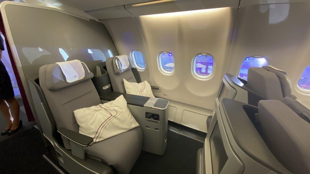 Eurowings Discover Kabine1