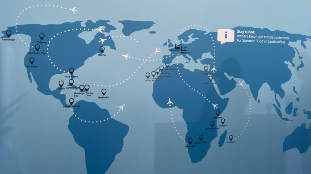 Eurowings Discover Strecken