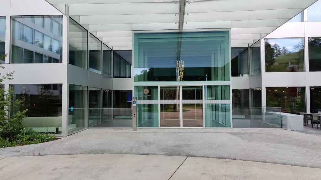 Hyatt Regency Zurich Airport The Circle Einfahrt