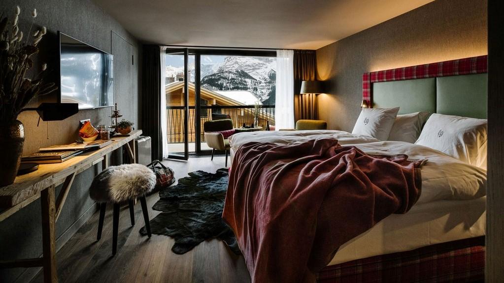 Bergwelt Grindelwald Resort Zimmer