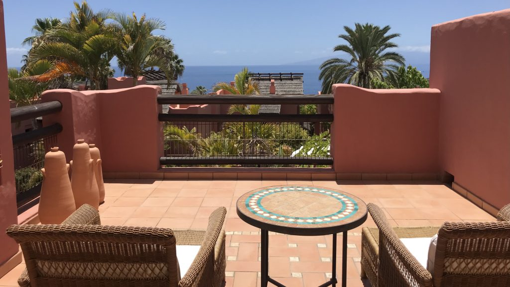Ritz Carlton Abama Teneriffa Balkon 1