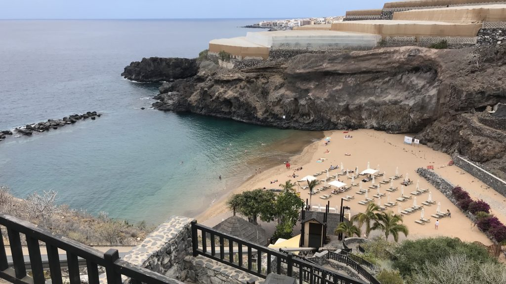 Ritz Carlton Abama Teneriffa Blick Zum Strand 2