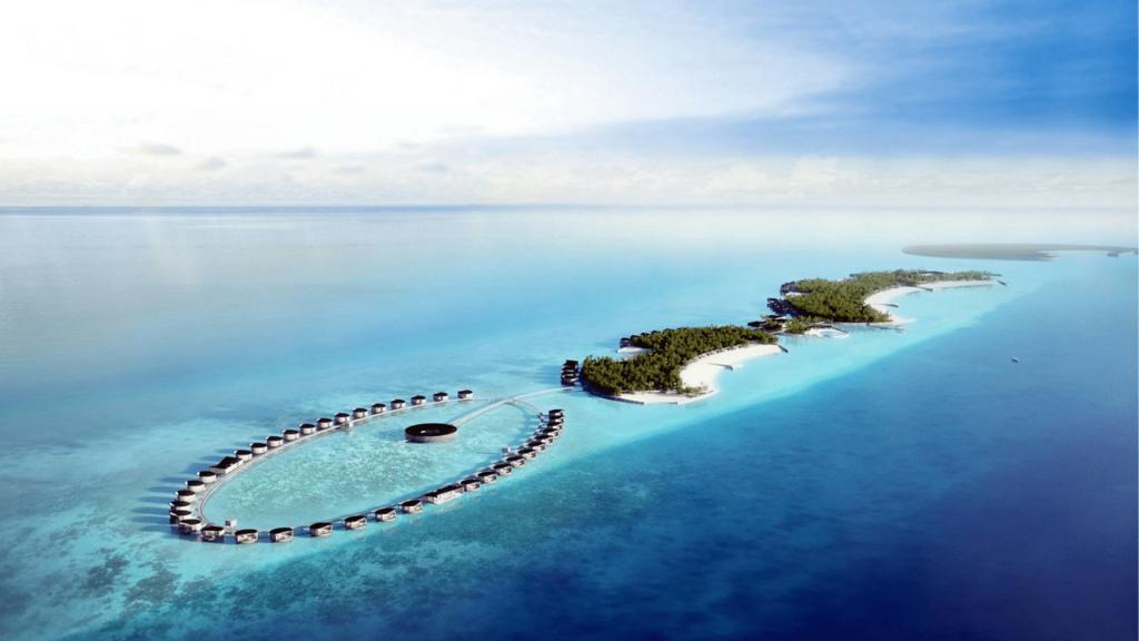 Marriott Bonvoy Hotel Ritz-Carlton Malediven Feri Inseln