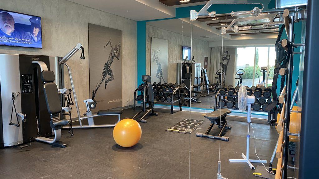 The Chedi Lustica Bay Fitnessstudio5