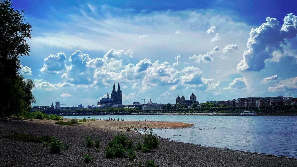 Köln Dom Rhein