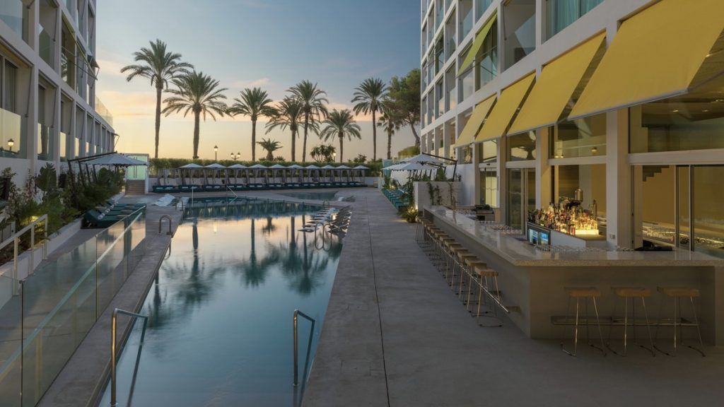 W Ibiza Marriott Pool