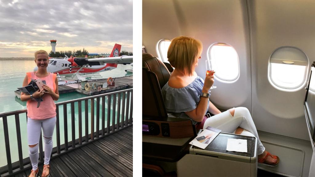 Wie Ich Zum Reisen Gekommen Bin Malediven Qatar Business Class