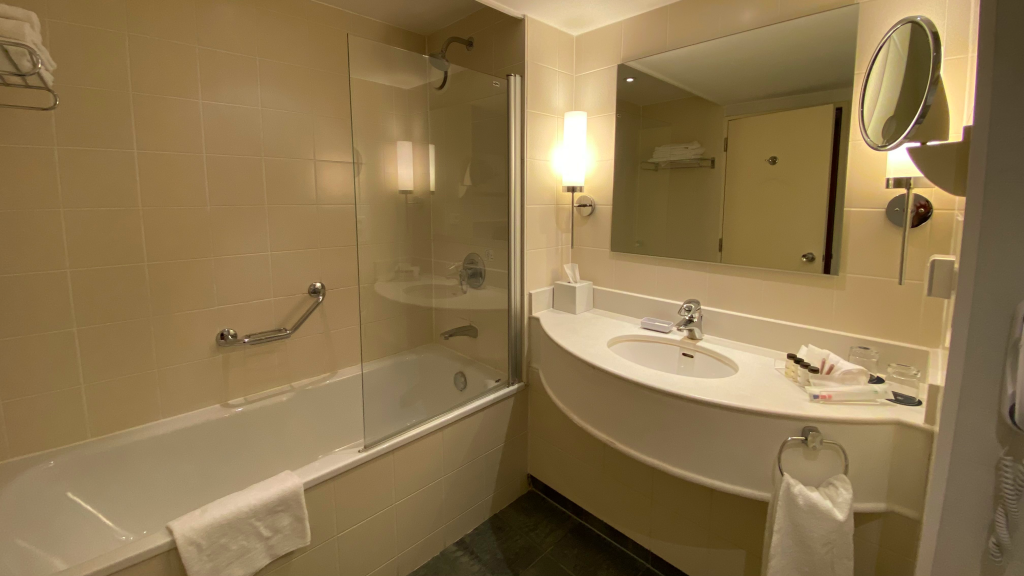 Sheraton Brussels Airport Hotel Bad