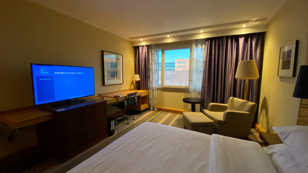Sheraton Brussels Airport Hotel Zimmer