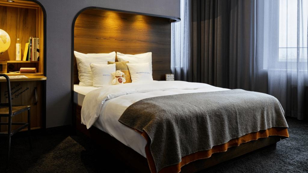 25hours Hotel Hamburg Hafencity Zimmer