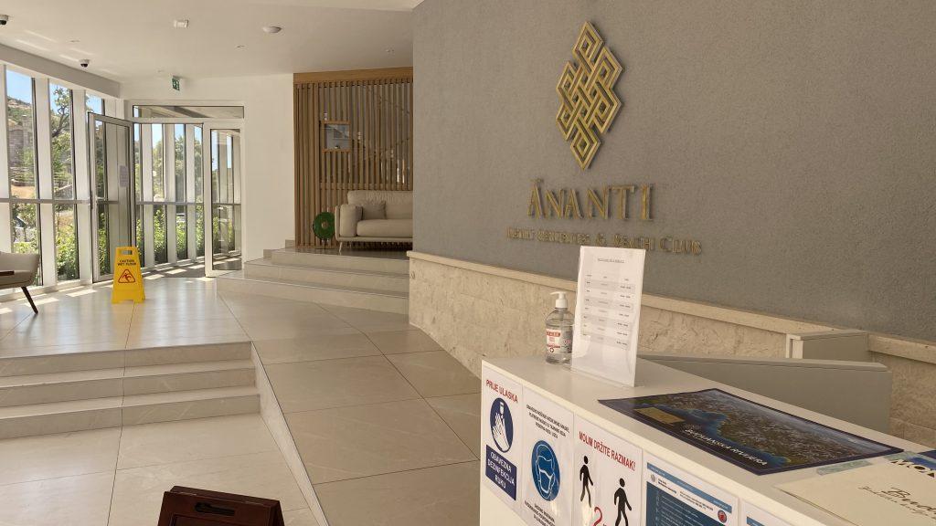 Ananti Resort Montenegro Bewertung Eingangsbereich1