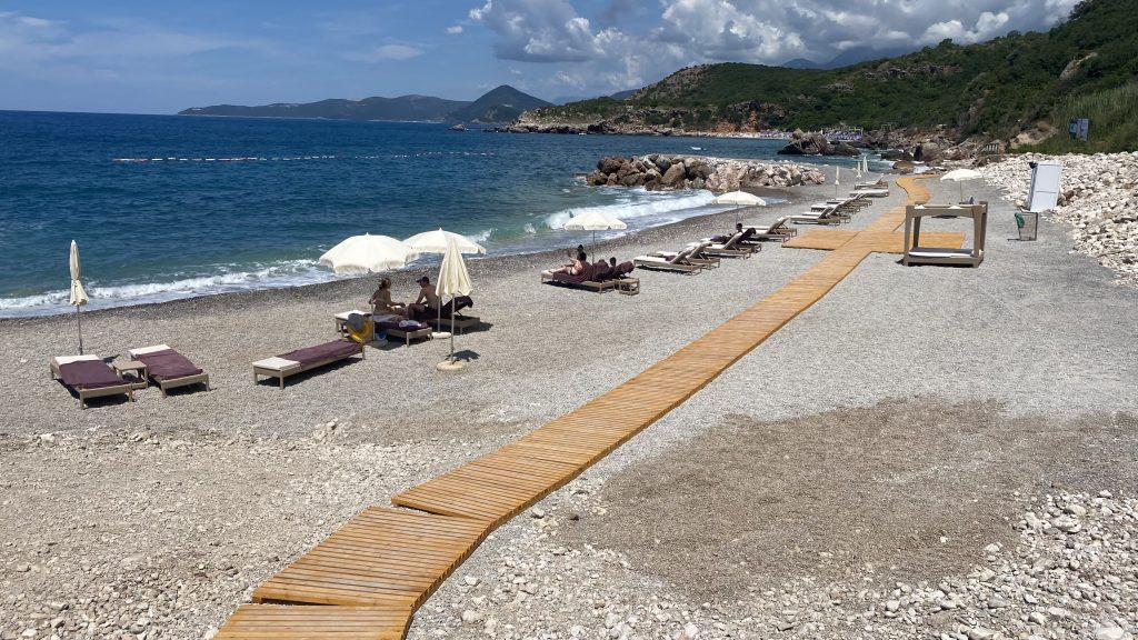 Ananti Resort Montenegro Bewertung Strand1