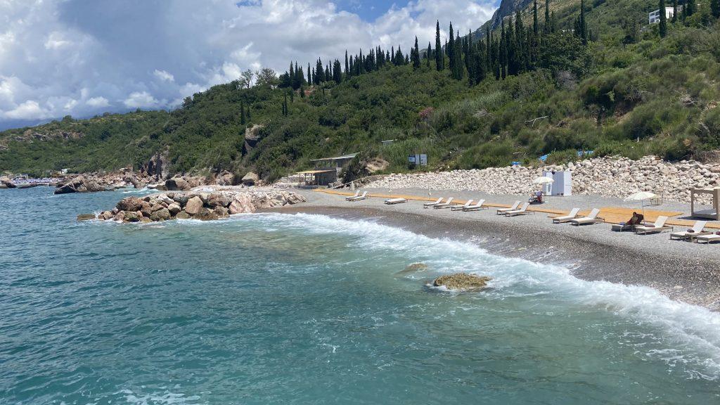 Ananti Resort Montenegro Bewertung Strand5