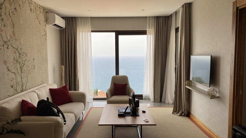 Ananti Resort Montenegro Bewertung Wohnzimmer3