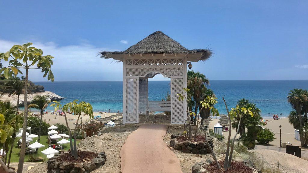 Bahia Del Duque Ausblick Meer