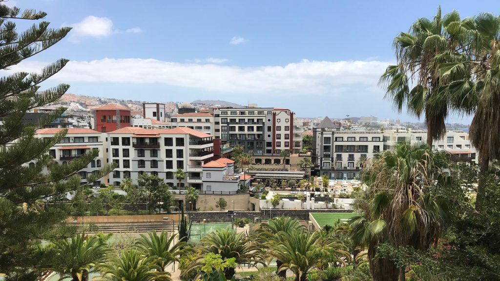 Bahia Del Duque Ausblick Auf Hotels