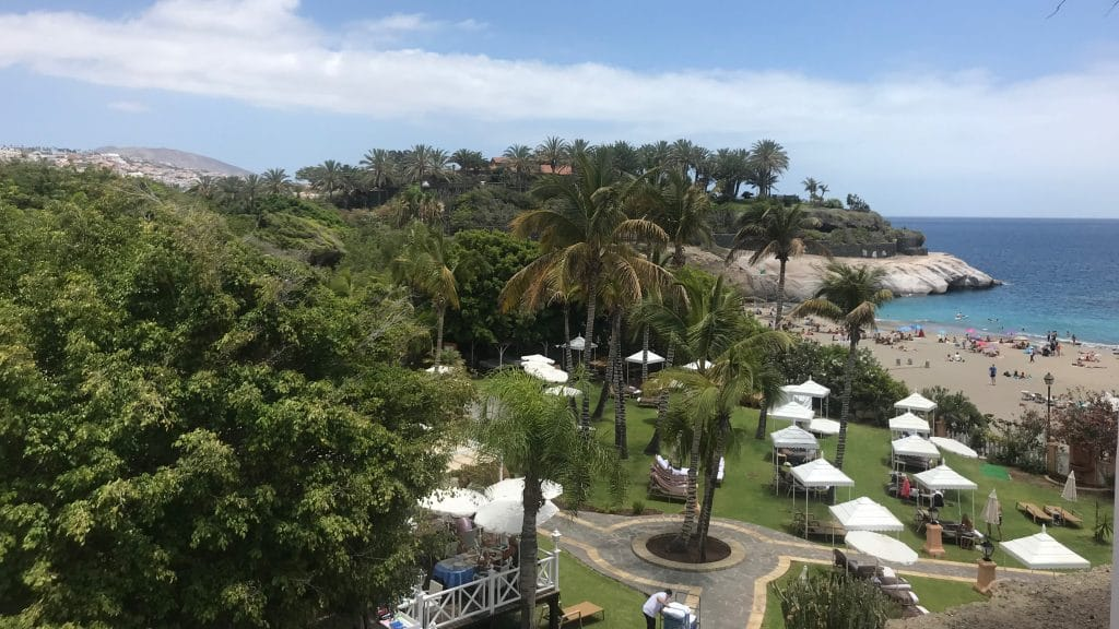 Bahia Del Duque Blick Auf Strand