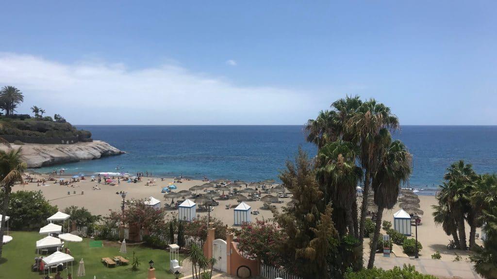 Bahia Del Duque Blick Aufs Meer