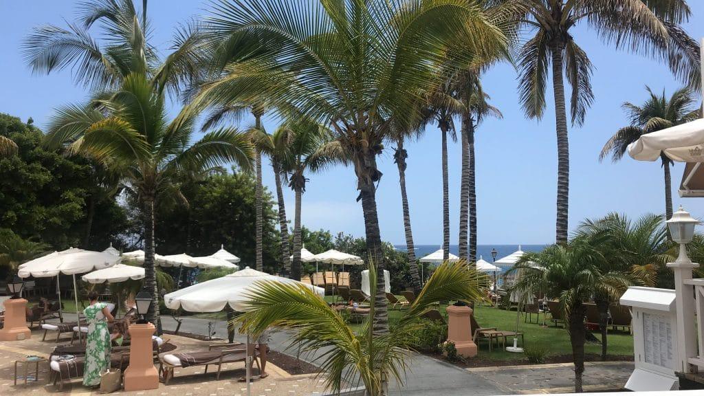 Bahia Del Duque Blick Von Der Beachbar