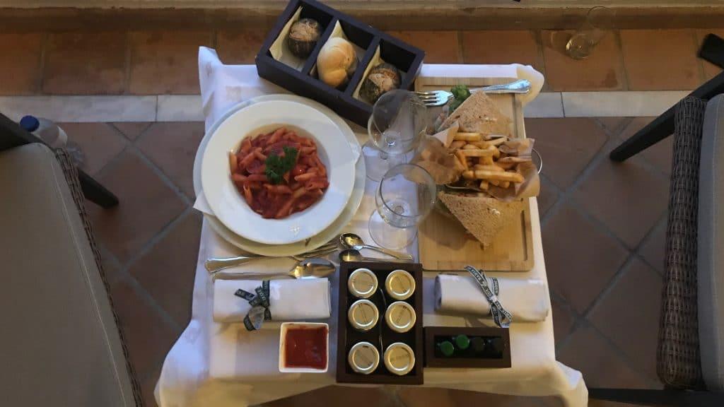 Bahia Del Duque Room Service 2