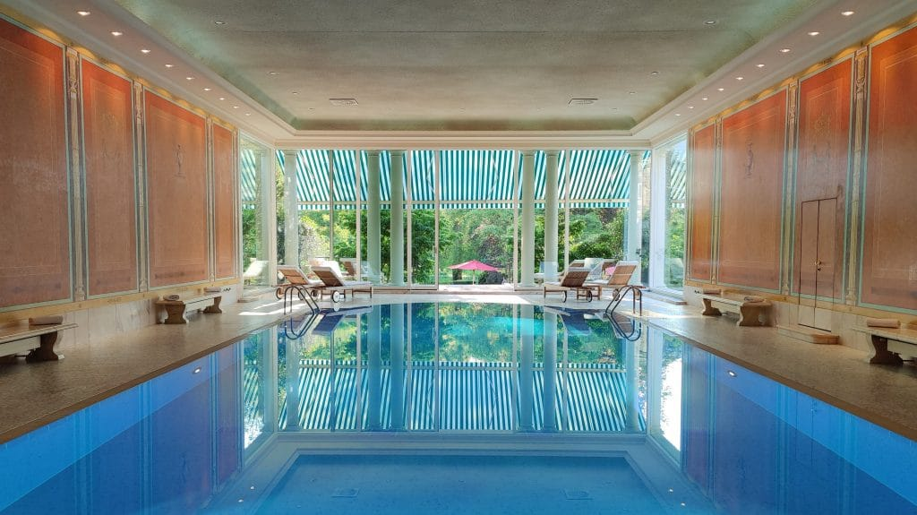 Brenners Park Hotel Baden Baden Pool 2