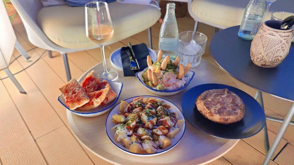 Kimpton Vividora Barcelona Abendessen Bar