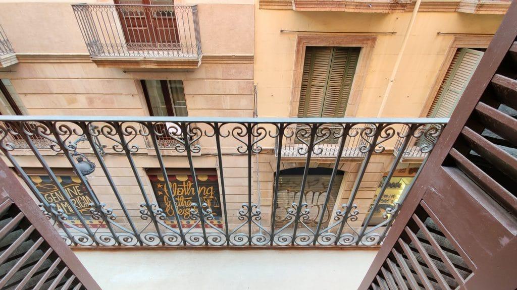Kimpton Vividora Barcelona Fitnessraum Balkon