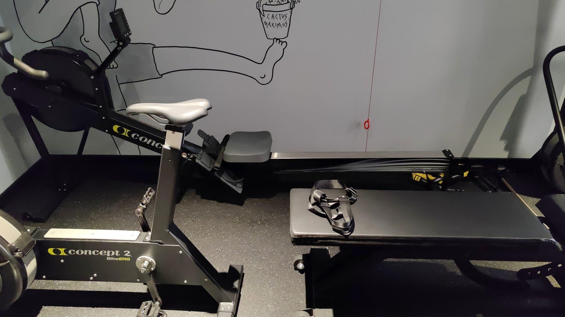 Kimpton Vividora Barcelona Fitnessraum Geräte