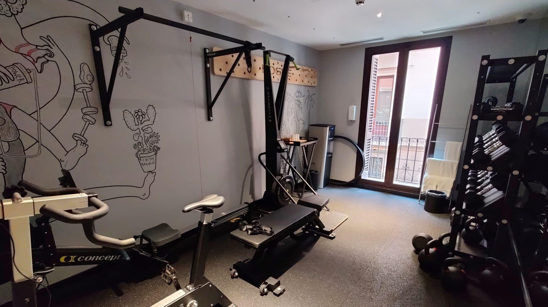 Kimpton Vividora Barcelona Fitnessraum