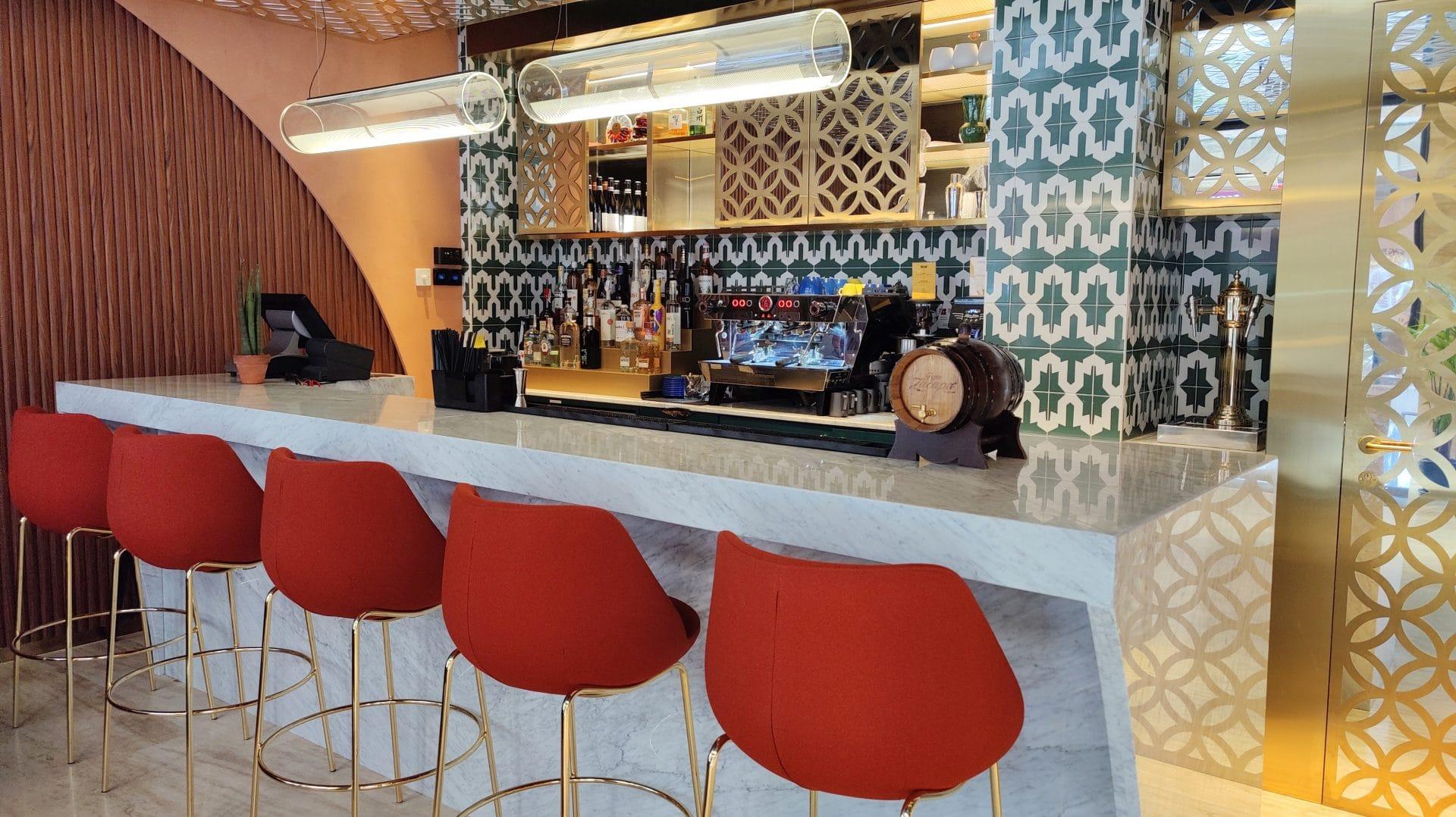 Kimpton Vividora Barcelona Fruehstueck Kaffeebar