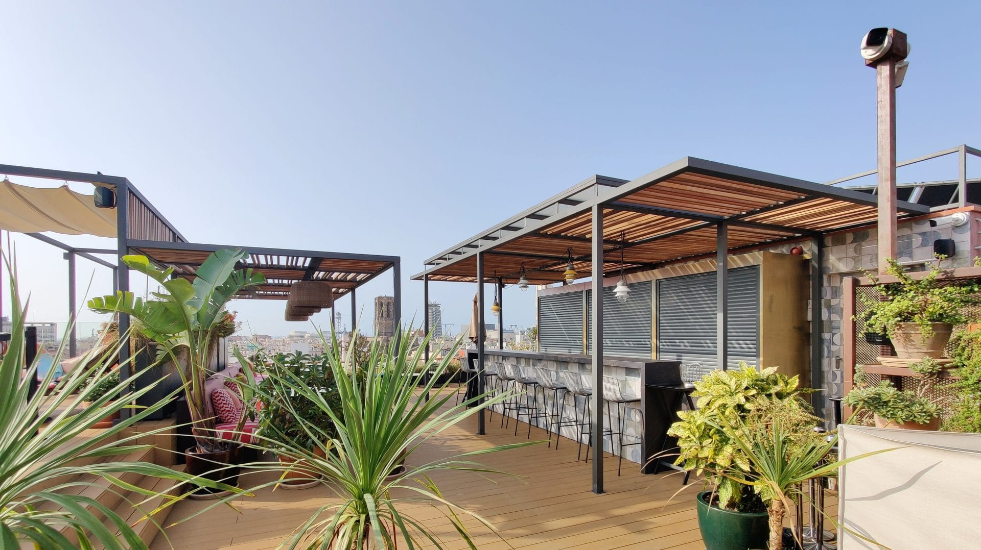 Kimpton Vividora Barcelona Rooftop Bar 4
