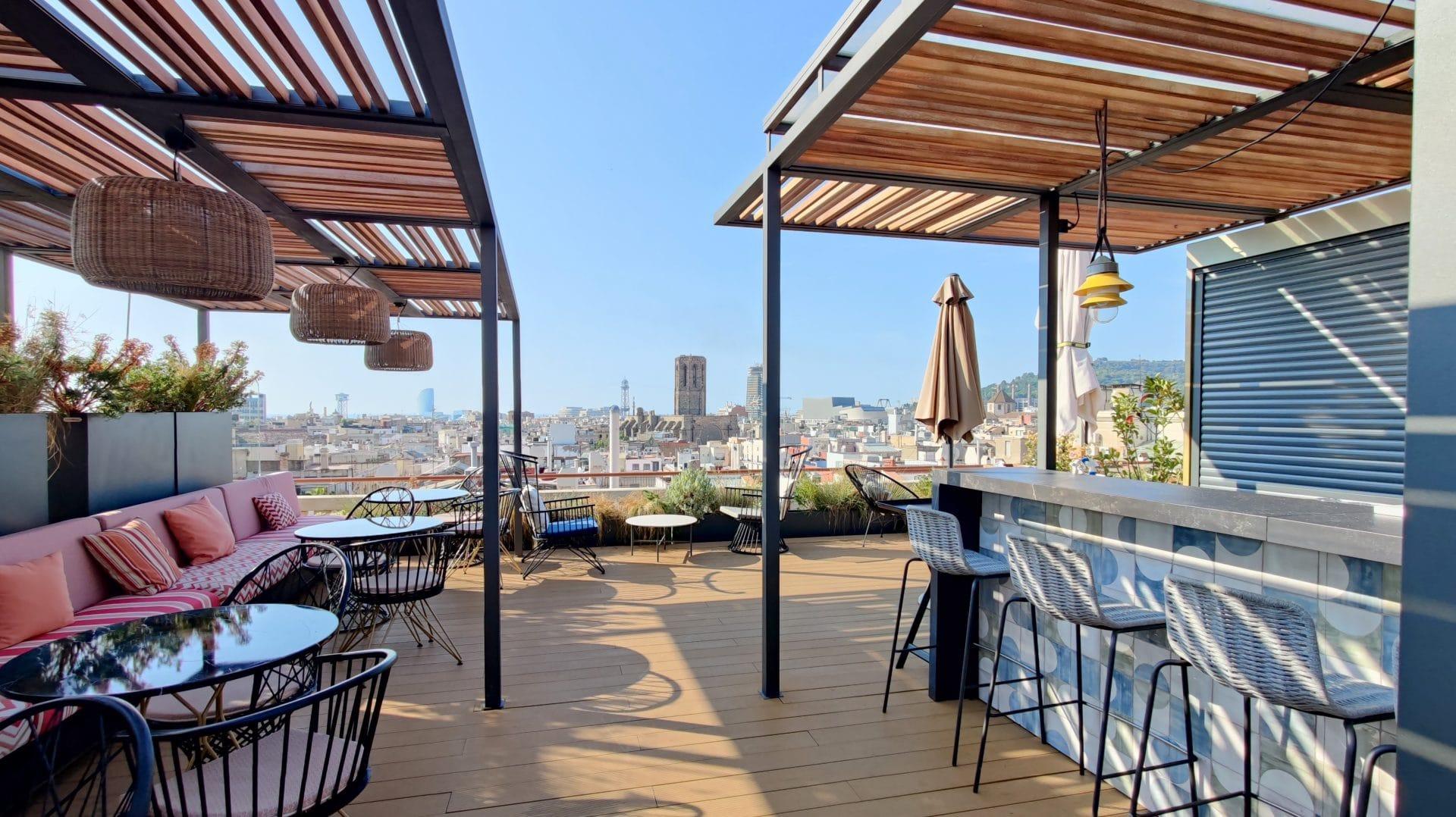 Kimpton Vividora Barcelona Rooftop Bar 7
