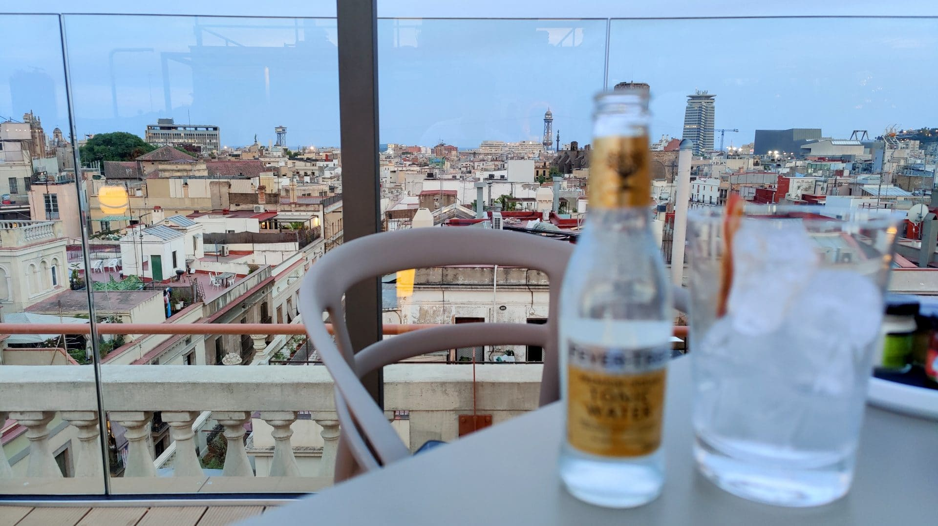 Kimpton Vividora Barcelona Rooftop Bar Drink