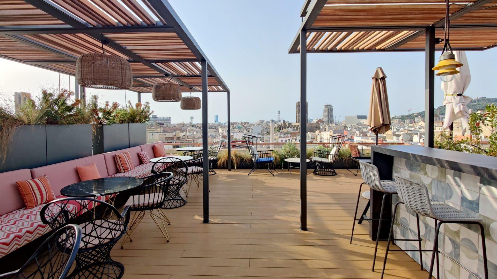 Kimpton Vividora Barcelona Rooftop Bar