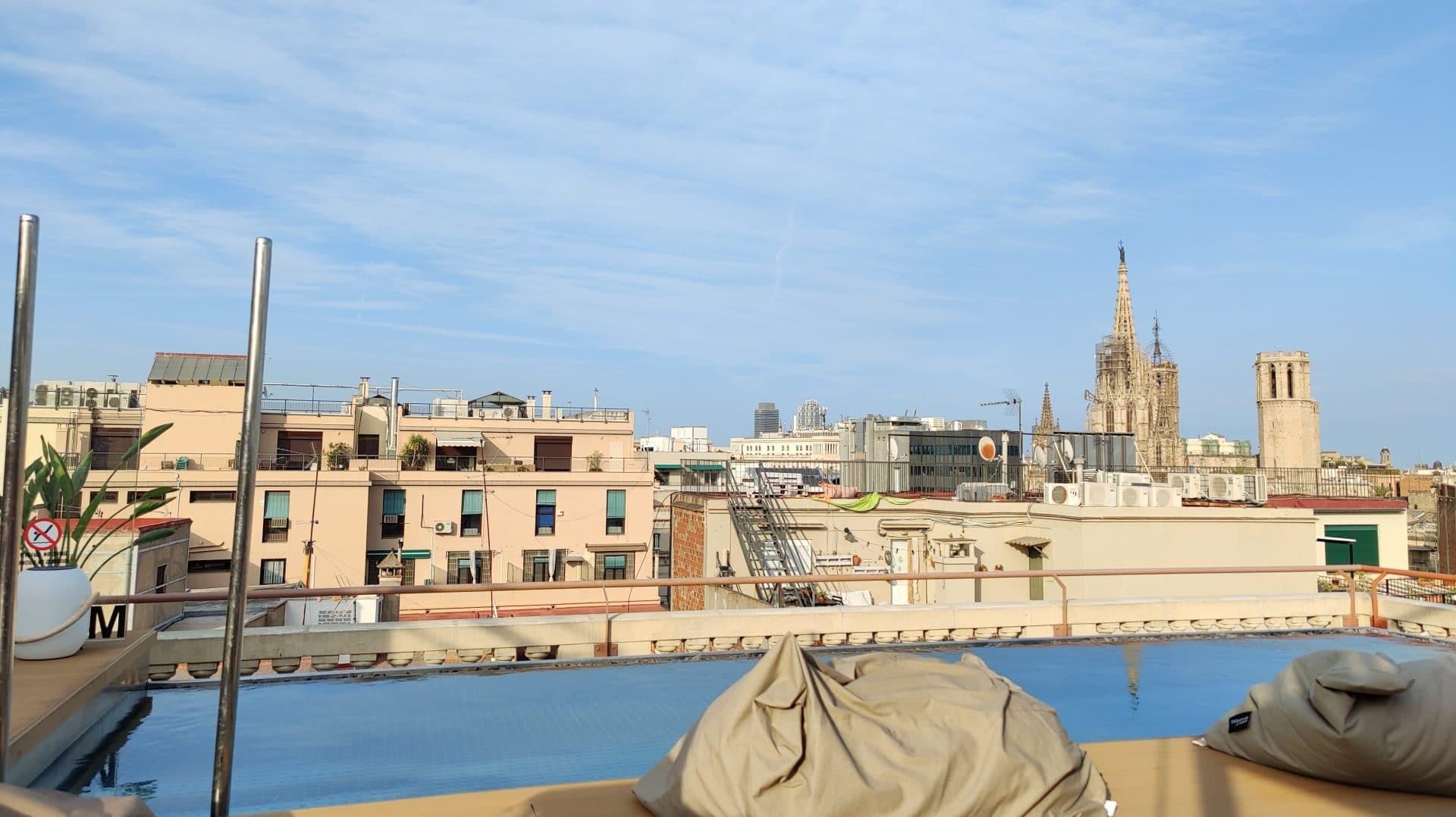 Kimpton Vividora Barcelona Rooftop Pool 3
