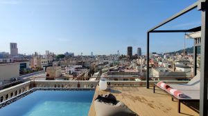 Kimpton Vividora Barcelona Rooftop Pool 7