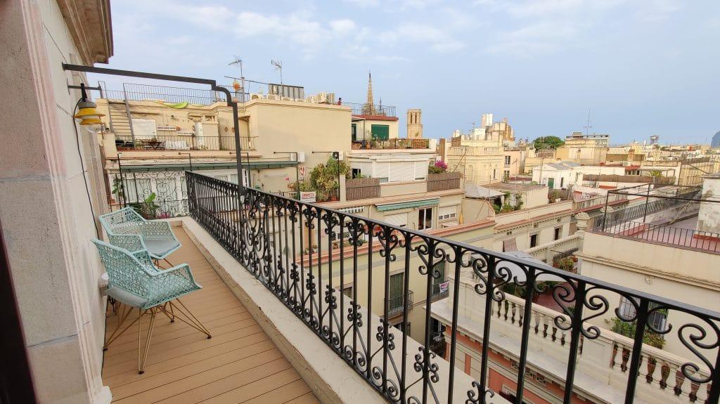 Kimpton Vividora Barcelona Suite De Vivi Balkon