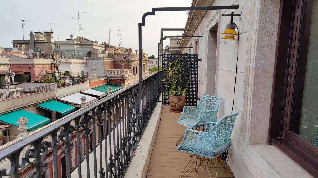 Kimpton Vividora Barcelona Suite De Vivi Balkon 2