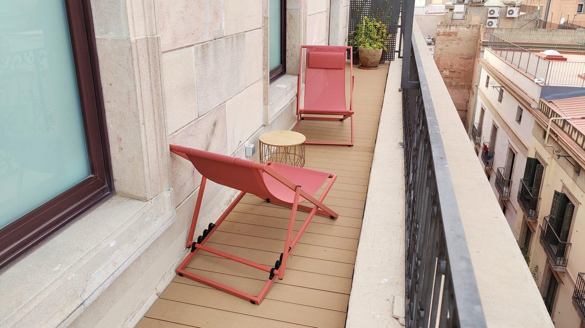 Kimpton Vividora Barcelona Suite De Vivi Balkon 3