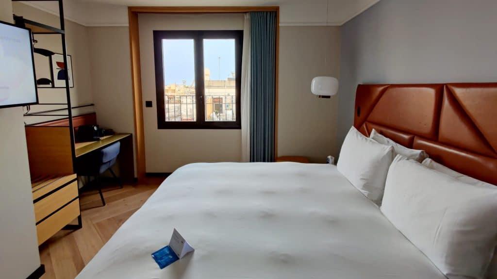 Kimpton Vividora Barcelona Zimmer Ausblick