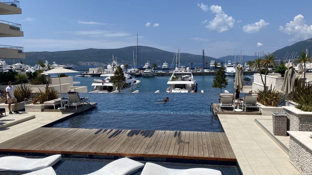 Regent Porto Montenegro Pool207
