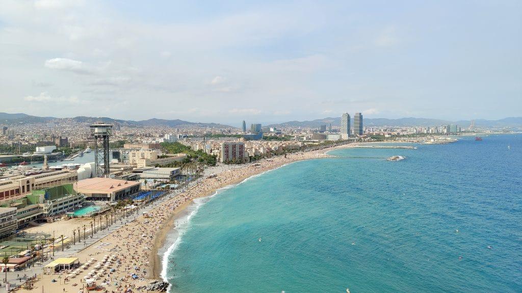 W Barcelona Fabulous Sky Zimmer Ausblick