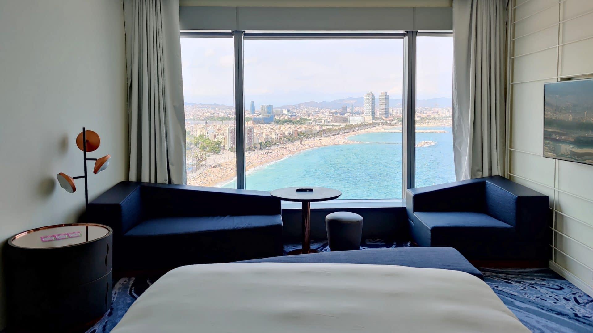 W Barcelona Fabulous Sky Zimmer