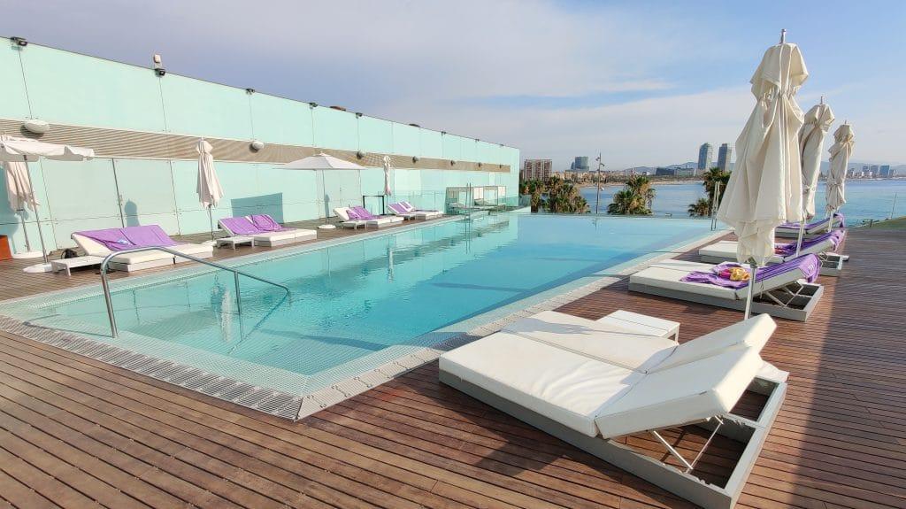 W Barcelona Infinity Pool 10