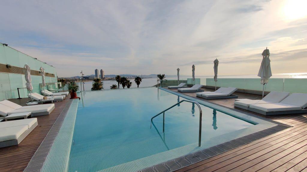W Barcelona Infinity Pool 4