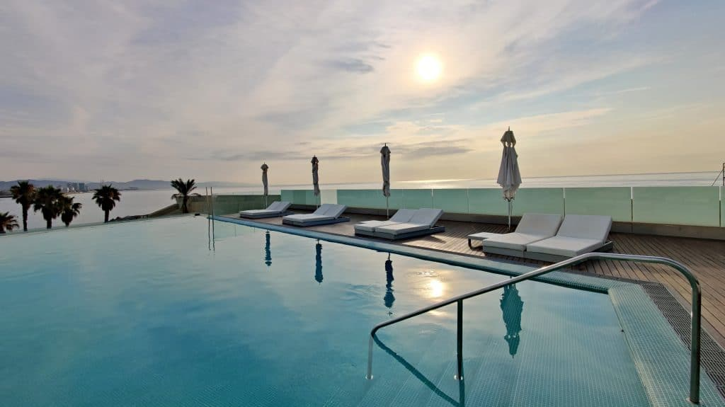 W Barcelona Infinity Pool 6