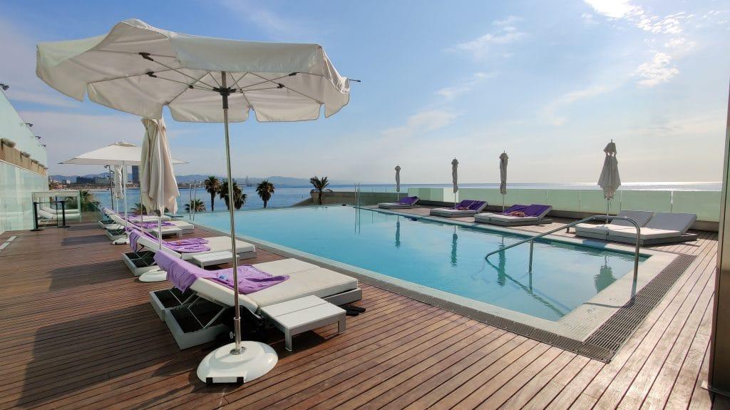 W Barcelona Infinity Pool 7
